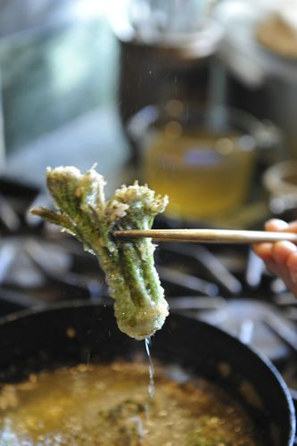 Mountain Vegetable Tempura-7
