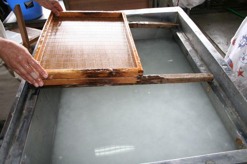Making Washi-5